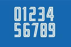 Cruz Azul font 16 « The Modern Game Football Fonts, Sports Fonts, Script Lettering, Typography Fonts, Honda Racing, Jersey Font, Modern Games, Cooking Classes For Kids, Cv Design