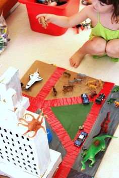 DIY Toy: Cardboard City