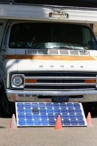 RV solar panels can provide enough electricity for everything inside your RV. photo by richardmasoner on Flickr