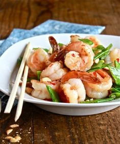 Sweet Chili Shrimp Stir-Fry   The Clever Carrot
