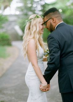 So much love: http://www.stylemepretty.com/2014/09/23/boho-spring-wedding-in-nyc/   Photography: Emily Steffen - http://www.emilysteffen.com/