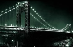 "Lower Level Of GWB Closed Tonight For ""Full Scale Emergency Response Drill. Emergency Response, No Response, Fort Lee, Washington Heights, Hudson River, George Washington Bridge, New York City, Skyline, Scene"