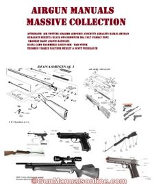 139 Best AIR RIFLE GUN OWNERS MANUALS AND EXPLODED DIAGRAMS