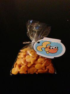 Elmo's fish Dorothy party favors - Elmo Party!