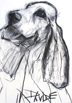 Valerie Davide - Dog Riley - charcoal