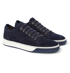 LanvinSuede Sneakers | Mr. Porter
