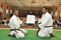 Karate Black Belt Exam and Colour Belt Exam - 28.02.2016 in Trichy.