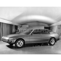 OG | 1976 Rover SD1 | Full-size clay model - Concept 3, the winning proposal.