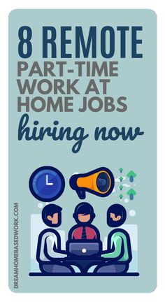 Whether you're looking to teach online, do customer service, or utilize your typing skills, check out this list of remote, part-time work at home jobs hiring now to help you get started!  #parttime #workathome #jobs Typing Skills, Typing Jobs, Hiring Now, Jobs Hiring, Online Jobs From Home, Work From Home Jobs, Media Quotes, Work Quotes, Change Quotes