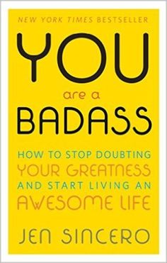 This list of inspirational books will encourage you to make positive changes in your life. These self-help books, memoirs, and motivational books all deserve to be on your to-read list! You Are A Badass by Jen Sincero. Motivational Books, Inspirational Books, Inspiring Quotes, Good Books, Books To Read, My Books, Amazing Books, Self Love Books, Reading Lists
