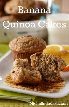 Banana Quinoa Cakes