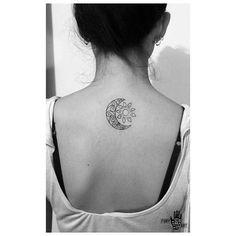 9 Mejores Imágenes De Tatuaje Sol Y Luna En 2017 Cute Tattoos