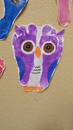 owl footprints