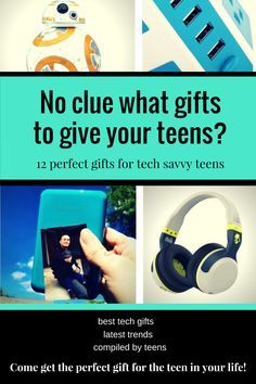 No clue what gifts to give your teens? Come get the perfect gift for the tech savvy teen in your life with this amazing gift guide.