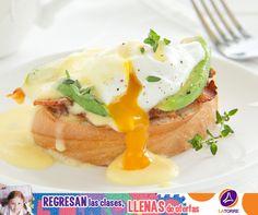 Huevos Poche en Salsa Holandesa