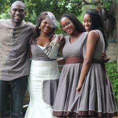 Tebogo & Oratile's Real Wedding - The Bridesmaids #hitchedrealwedding