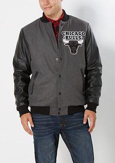 image of Chicago Bulls Varsity Jacket