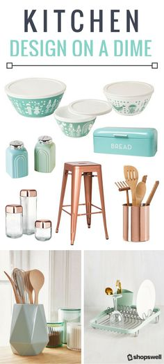 Create a chic cooking space with these budget-friendly kitchen decor and essentials picks.