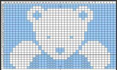 Diy Crafts - SEE KP: Christmas baby sweater Ravelry: knitabitknitwit's Phildar (Teddy Bear) CHART Diy Crafts Knitting, Diy Crafts Crochet, Knitting Projects, Knitting Ideas, Baby Knitting Patterns, Knitting Charts, Ravelry, Bunny Blanket