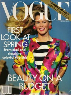 Vogue // February 1991
