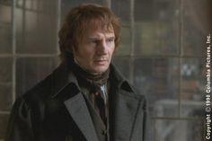 Liam Neeson as Jean Valjean in Les Miserables