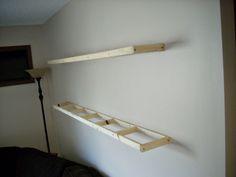 diy floating shelves - Google Search