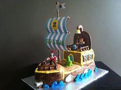 Jake & the Never Land Pirates Bucky Cake