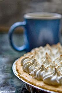Chocolate Meringue Pie like your grandmother used to make. See my blog for recipe. http://shultzieskitchen.blogspot.com/2013/09/chocolate-meringue-pie-like-your.html