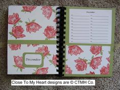 CTMH Card Organizer December by - Cards and Paper Crafts at Splitcoaststampers Card Organizer, Organizers, Birthday Calendar, Close To My Heart, Mini Albums, Clever, Stamps, December, Paper Crafts