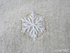 古いトート雪の結晶