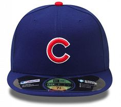 221771b504028 Chicago Cubs Authentic Collection On-Field 59FIFTY Game Cap by New Era
