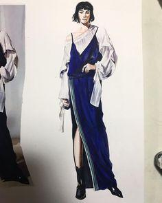 Instagram의 세이(@seieekim)님 #fashion #illustrations #fashionillustrations #패션 #패션일러스트 #패션일러스트레이션 #일러스트