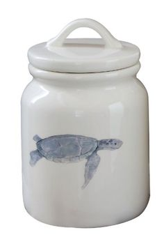 Creative Co-Op Dolomite Canister with Sea Turtle Image and Lid, 6.5-Inch Creative Co-op http://www.amazon.com/dp/B00JZMUB8A/ref=cm_sw_r_pi_dp_Vpv-tb1QCSWVZ