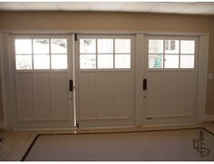 Carriage Doors Transform This Garage Into A Wonderful Studio Living Space
