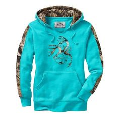 588b5456a46813 Legendary Whitetails Ladies Big Game Camo Outfitter Hoodie. Camo ClothesHunting  ...