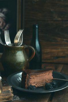 The Ultimate Dark Chocolate Cheesecake