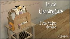 Ohbehave's Junk Trunk: Laura's Cleaning Case (Requested via email)