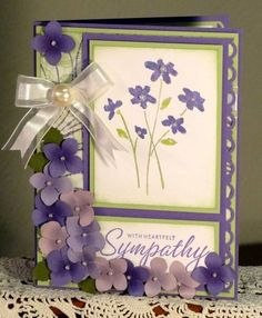 using Stampin Up Close as a Memory