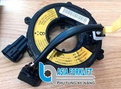 Cuộn dây cảm biến xe nâng điện TCM, Toyota, Mitsubishi, Komatsu, Linde… STEERING WIRE BRIDQE Toyota 7FBR15 Cable Assy Spiral Nissan, Toyota, Day