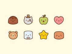 Sweet Cakes Icons by Sky Trip