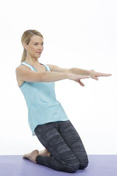 This Pilates leg-and-butt workout, is as fast as it is effective. In only five minutes, it will leave your glutes burning and your upper thighs worked - without having to stand!