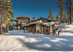 Second Home NearLake Tahoe Lets You Ski to Your Door