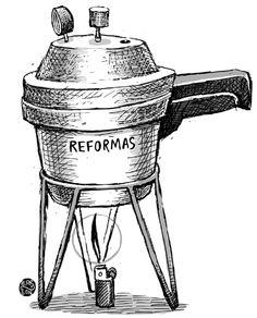 Otro cartón muy bueno, se cocinan las reformas en el Congreso, por Alarcón. 10-09-13