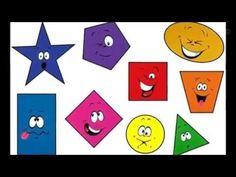 Şekiller Şarkısı Geometric Shapes, Preschool, Kids Rugs, Homemade, Knitting, Youtube, Autism, Wallpaper, Dimensional Shapes