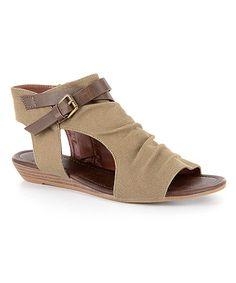 Take a look at this Corkys Footwear Khaki Dandee Sandal - Women today!