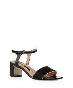 Elisabeth block heeled sandal