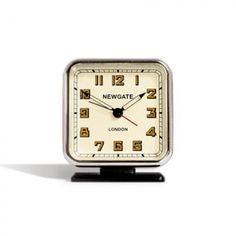 Martin Patrick 3 :: Newgate Strand Alarm Clock in Black