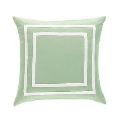 Double Border Outdoor Pillow
