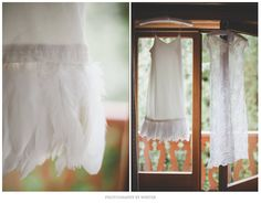 #Photography By Winter #robe de #mariée #Dress #mariage #wedding #white #plume