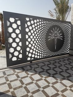 Ideas Cnc Door Design Garden Gates For 2019 Gate Wall Design, Front Gate Design, House Gate Design, Fence Design, Garden Design, Modern Main Gate Designs, Best Door Designs, Modern Gates, Compound Gate Design